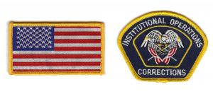 Prison Guard Patches